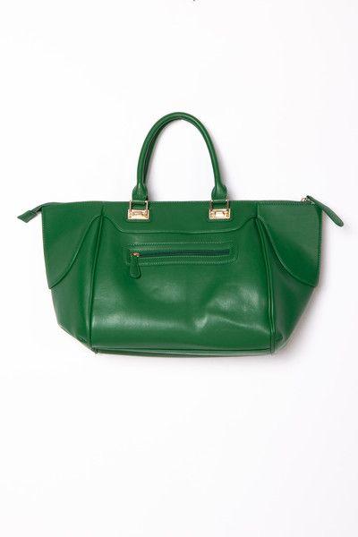 Madison Handbag - Kelly Green