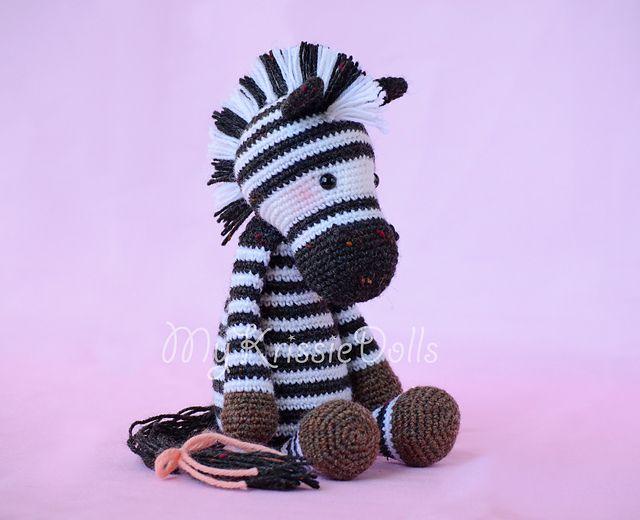 Ravelry: Betje Zebra pattern by Kristel Droog ---FREE PATTERN