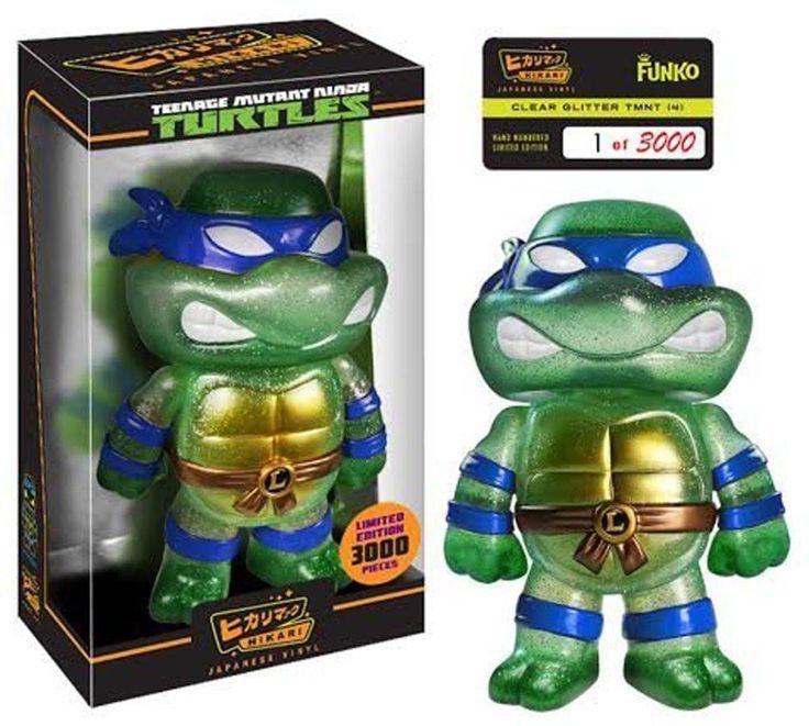 Hikari Sofubi: Teenage Mutant Ninja Turtles: LEONARDO [CLEAR GLITTER]