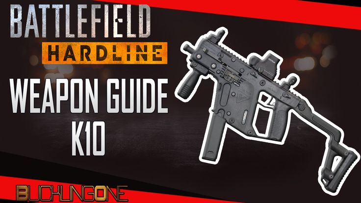 A look at the K10 in Battlefield Hardline. The third episode in my series of Weapon Guides for Hardline.