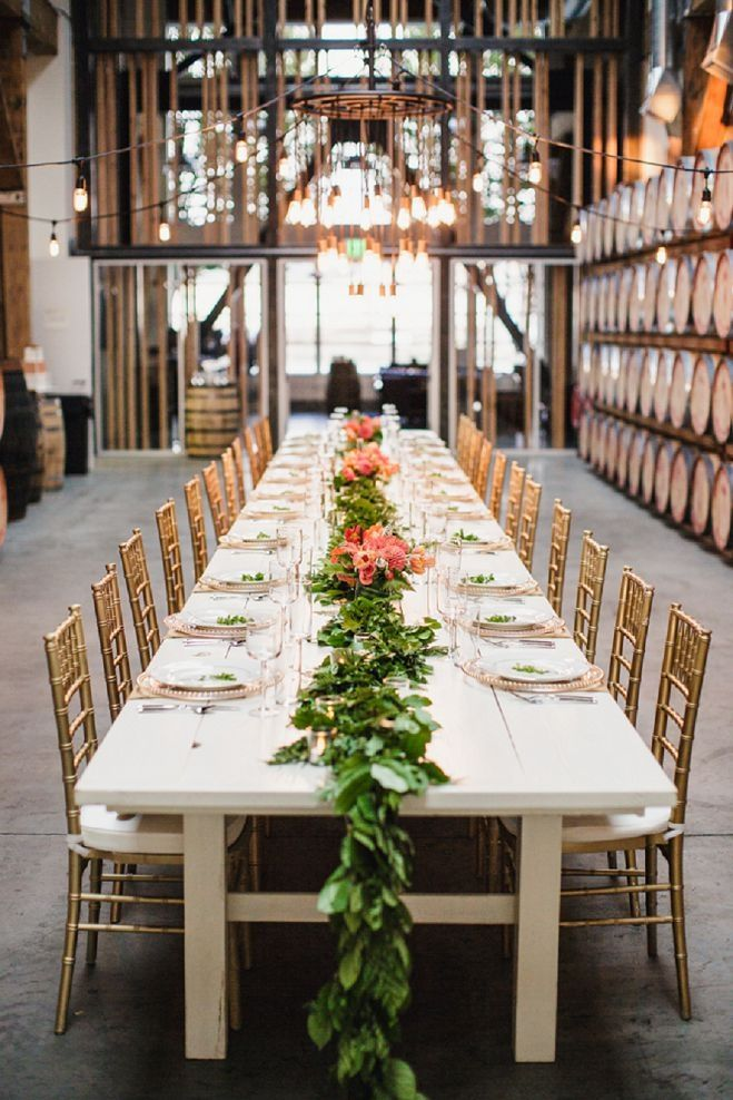 Industrial Mid-Century Distillery Inspiration | Photographed by Cheryl Ford Photography | seattlebridemag.com