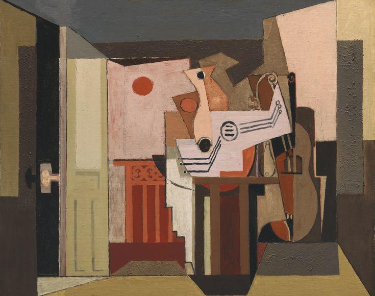 Louis Marcoussis: 'SOLEIL COUCHANT' (1930).