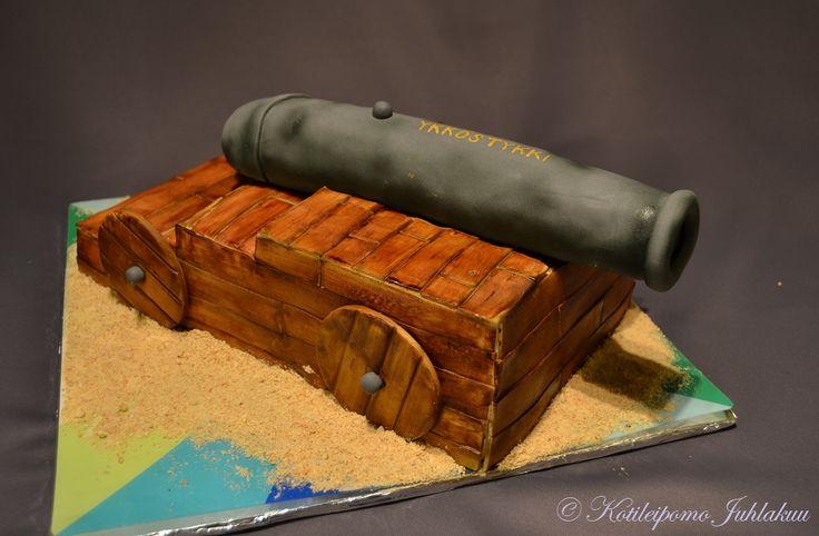 Cannon cake