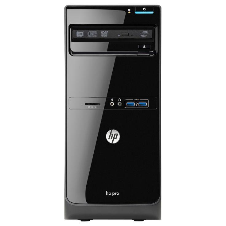 HP Business Desktop Pro 3500 Desktop Computer - Intel Core i5 i5-3470 #D3K73UT#ABA