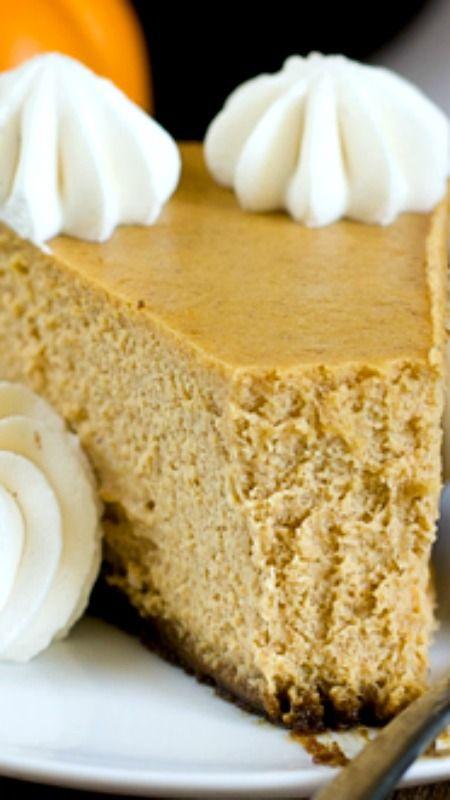 ... Cheesecake Food, Gingersnap Pumpkin Cheesecake, Pumpkin Pies