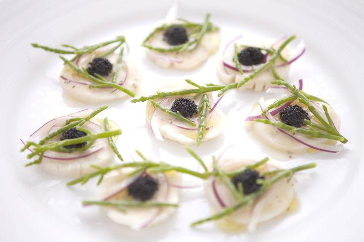 carpaccio di capesante *   Arancino   Hawaii's premier Italian ristorante