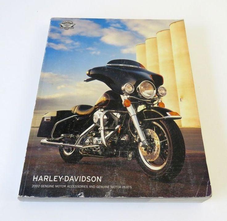 2002 Harley Davidson Genuine Motor Accessories & Parts Catalog HARLEY-DAVIDSON