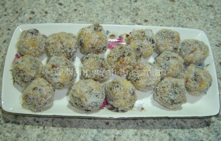 Fruit Nut Balls - Gluten Free