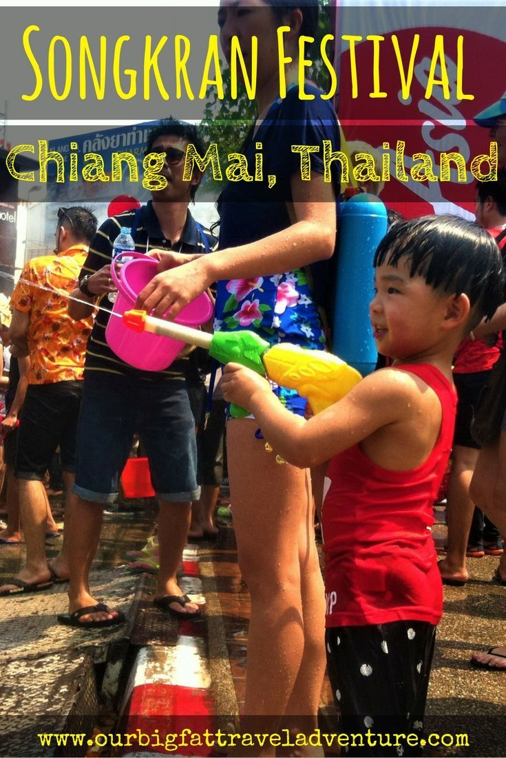 Last week we celebrated the Songkran festival Chiang Mai which is also known as the world's largest water fight and marks the Thai New Year.