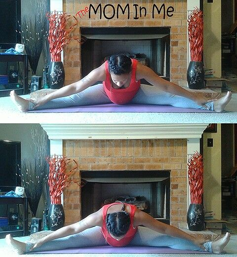 Hip Stretcher, this will help open up the pelvis, stretch the ligaments.  #Yoga #Prenatal#Yoga