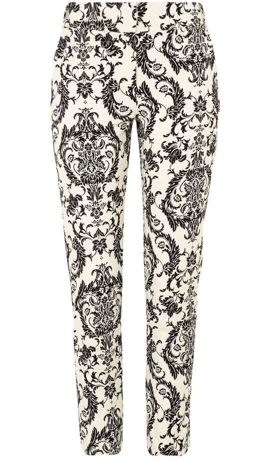 Primark AW12 Printed Cotton Trousers, £14