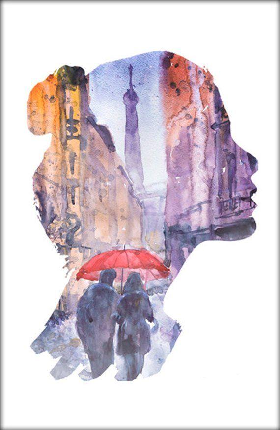 Art print carte A5 14,8 cm x21 cm Le petit Prince
