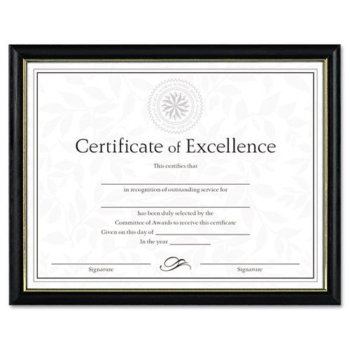 Dax Two-tone Certificate Frame