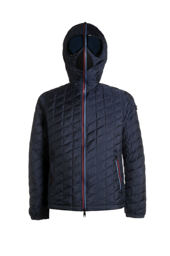 Piumino Light for man by AI - Riders On The Storm.  DCM001: SHINY RIP - 100% POLYESTER.