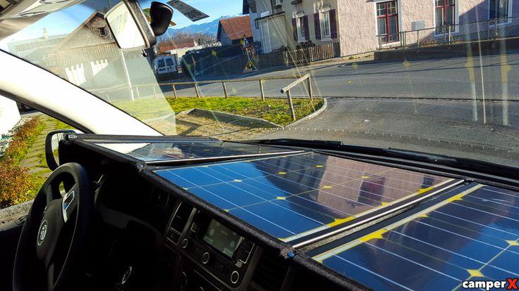 Mobiles SOLAR Modul-Panel-Anlage 100 Wp VW T5 / T6 Solar - camperX