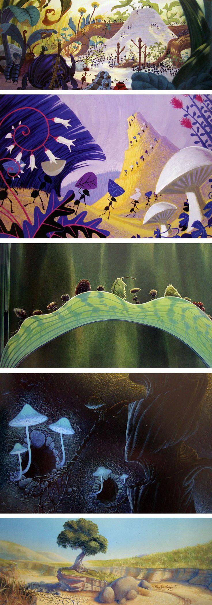 The-Art-of-Pixar-BugsLife (Tia Kratter, Bill Cone, Geefwee Boedoe)