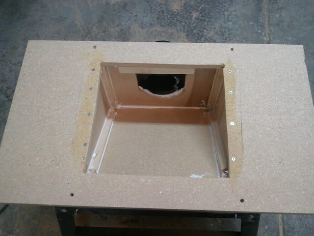 Contractor Table Saw Dust Collection Upgrade - by Eric_S @ LumberJocks.com ~ woodworking community