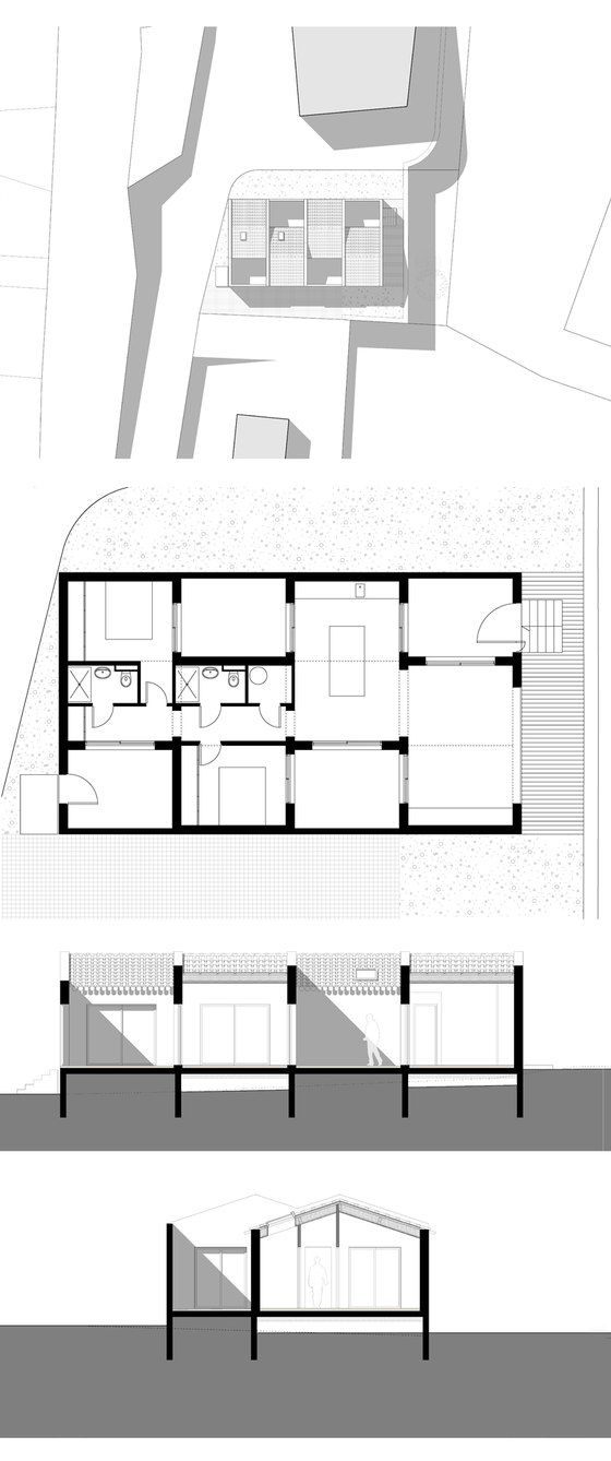 Villa Tranquille by ARTELABO   Detached houses