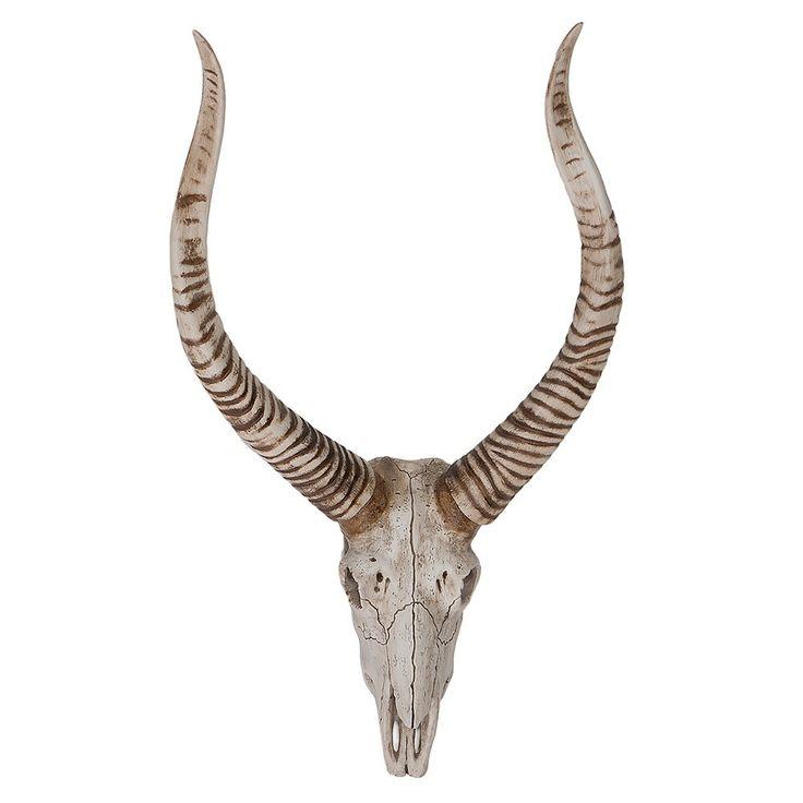 Resin Antelope Skull on Temple & Webster today!