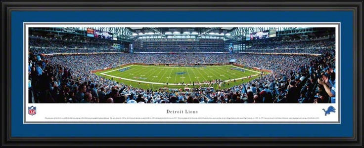 Detroit Lions - Ford Field - NFL Panorama $199.95