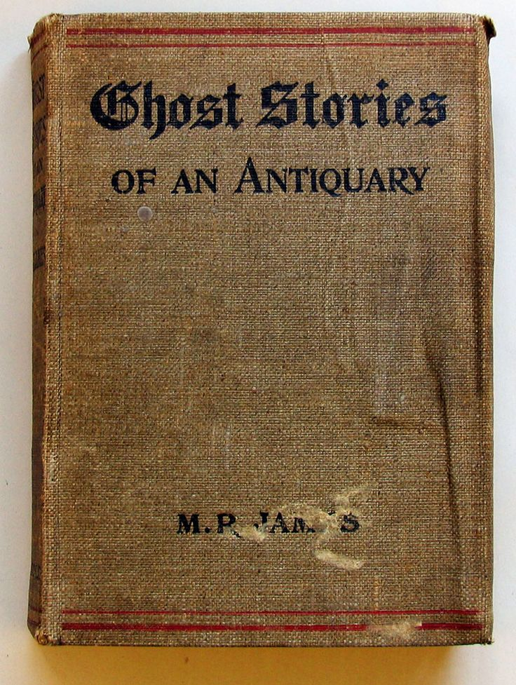 MR James' very first collection of ghost stories