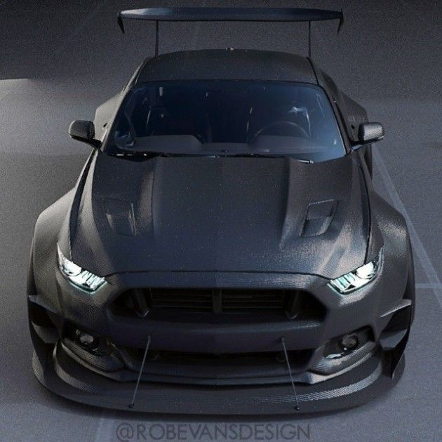 2015 mustang carbon wide body concept by robevansdesign 2 630 630 ford muscle. Black Bedroom Furniture Sets. Home Design Ideas