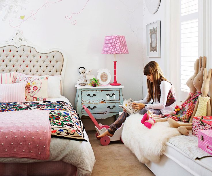 Forget wall-to-wall pink (though it does make an appearance), these 10 gorgeous girls' bedrooms are all about bringing personality with colour and texture.