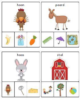rijmen kleuters boerderij heel veel verschillende ideeën voor lente/dieren/boerderij