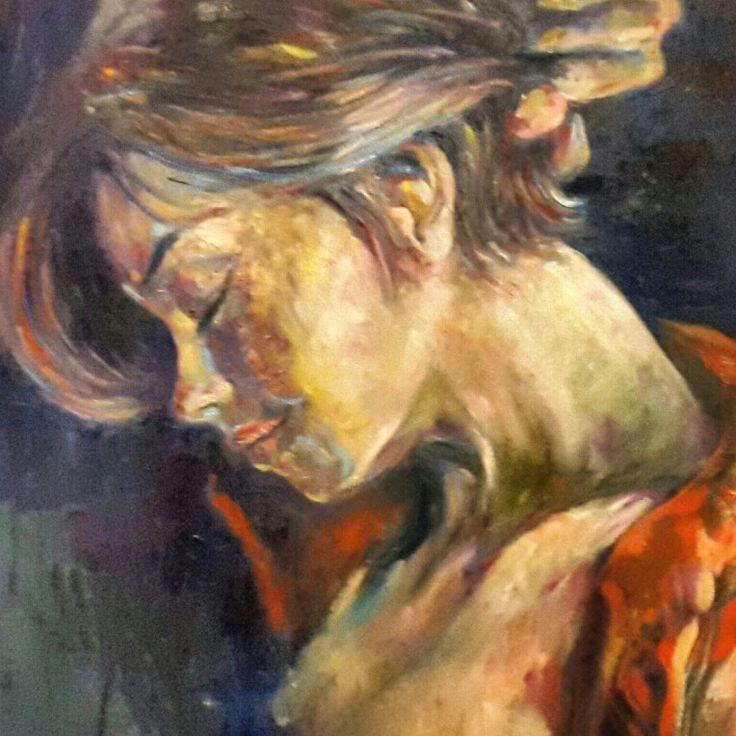 Oil on canvas 70x50 Easy like sunday morning 2015 Mario Digennaro mariodigennaro@yahoo.it