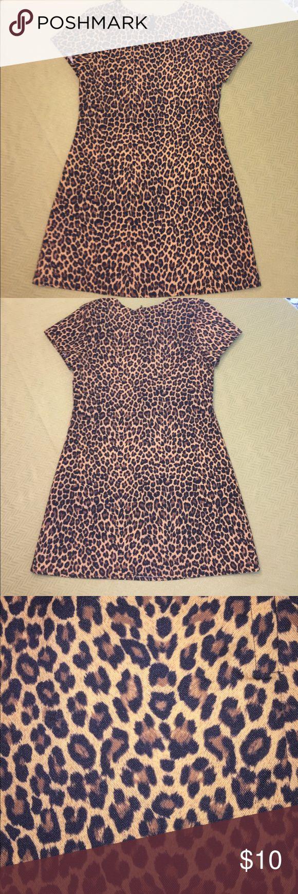 Animal print dress. Vintage animal print dress. Size 12 juniors. Amy Byer Dresses