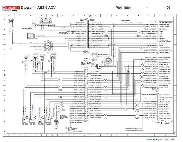 Electrical Wiring Diagram, Kenworth Wiring Diagram Pdf