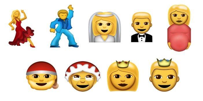 Estos serán los nuevos emoticonos de WhatsApp para 2016