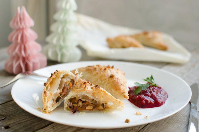 Vegan kerstrecept: kastanjeflappen met cranberrysaus - Healthy Vega