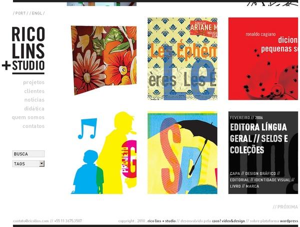 Rico Lins + Studio by Caos , via Behance: Graphic Design, Galleries, Studios, Behance