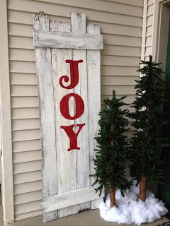 Past Blessings - make your own Joy sign