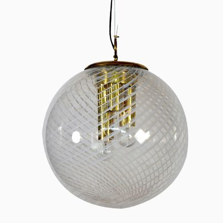 Stunning Gro e Italienische Murano Glaskugel H ngelampe von Venini er Jetzt bestellen unter https moebel ladendirekt de lampen deckenleuchten deckenlampen