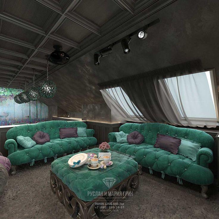 ДИЗАЙН ДИВАННОЙ ЗОНЫ НА МАНСАРДЕ http://www.line-mg.ru/dizayn-doma-s-mansardoy-vnutri-foto