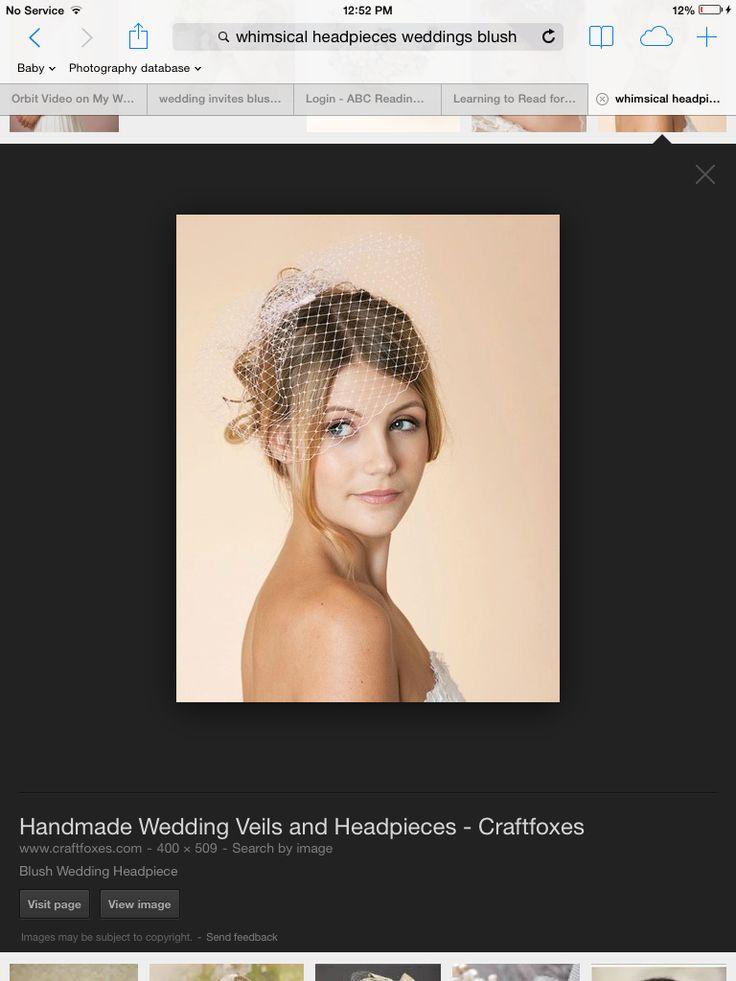 Whimsical vintage theme headpiece