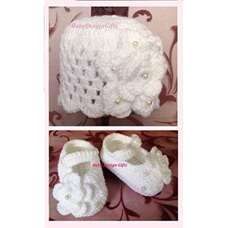 Babyset Baby zubehoert Babyschuhe und baby Hut #Handmade Produkte #Bekleidung Sc… – Handmade Produkte