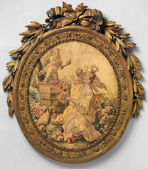 The Worship of Cupid, ca. 1775–90, After Jean Baptiste Huet I (French) Probably woven at Aubusson Manufacture (via The Metropolitan Museum of Art)
