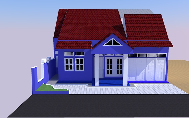 my home... with google sketchup 8