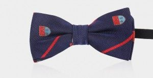 bow tie kids adjustable navy 1053