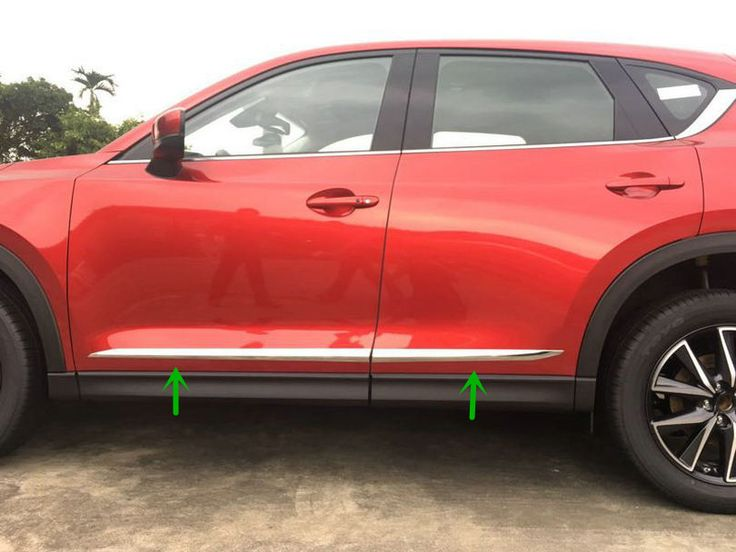 4pcs Accessories NEW! ABS Chrome Car Body Door Side Molding Trim Ring for Mazda CX 5 CX-5 2017 #Affiliate