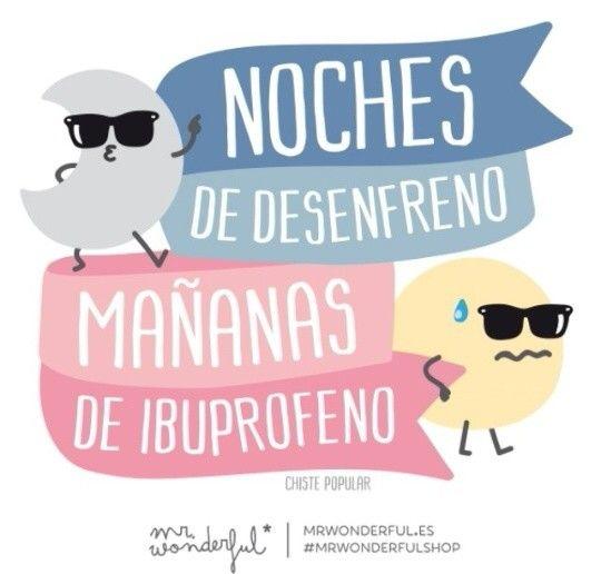 Mr Wonderful #desenfreno #nocheslocas