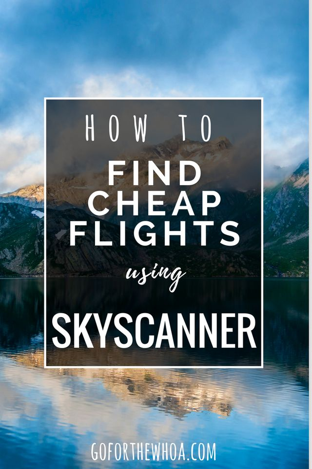 How to find and compare flight prices to get the best price. I love using skyscanner to find cheap and affordable flights! Use this hack to check cheap flight dates using their flexible calendar