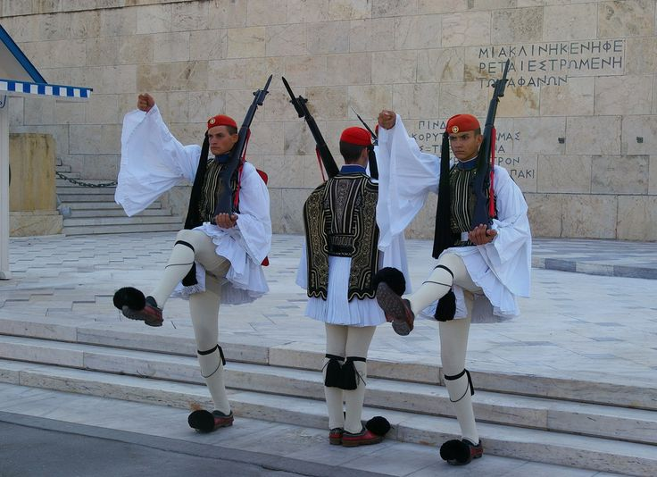 Evzones (Presidential Guards), Athens, Greece, 2011