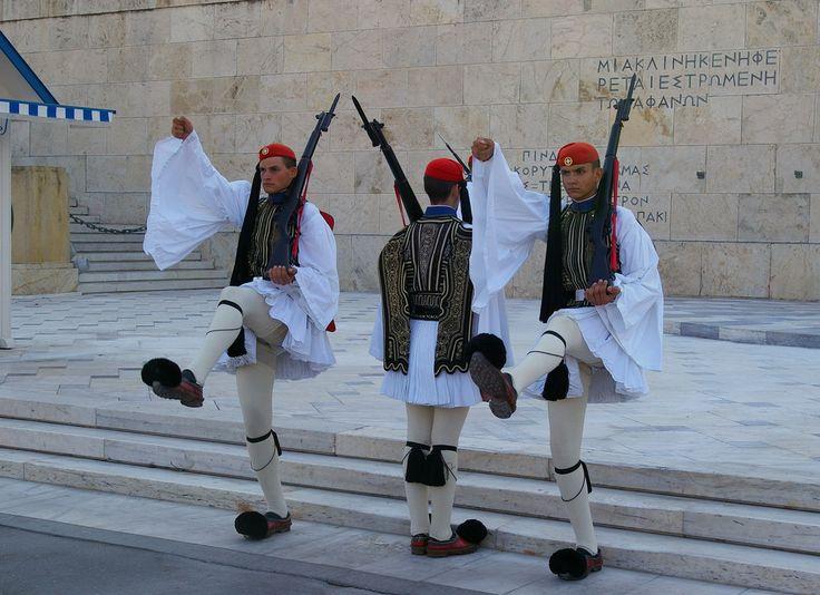 Evzones (Presidential Guards), Athens, Greece, 2011