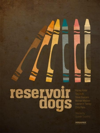 Designspiration — I Watch Stuff - More Tarantino Posters -- In That Minimalist Style That's All the Rage!