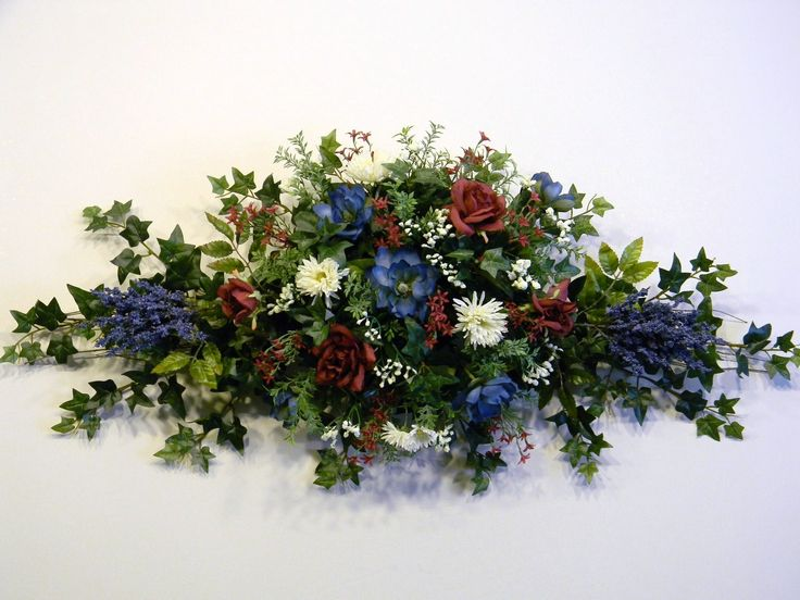 Dried Flower Swags   Floral Swag   Home Decor amp Arrangements