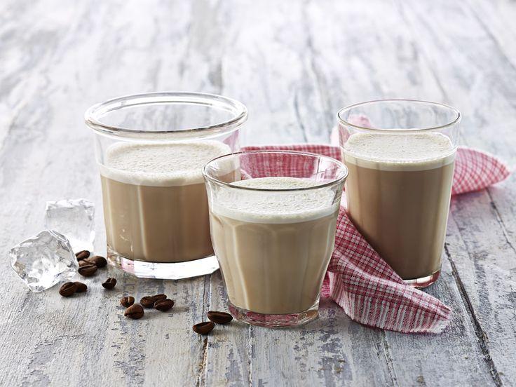 Iskaffe med espresso - Melk